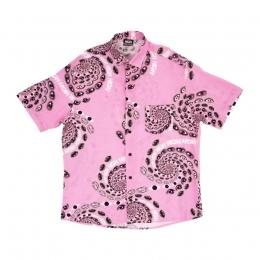 Camisa High Button Shirt Vision Pink