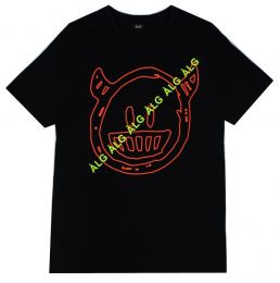 Camiseta ALG Smile Black