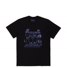 Camiseta Bolovo Bons Amigos Viajam Juntos Preta