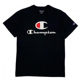 Camiseta Champion Big Logo Script Preta