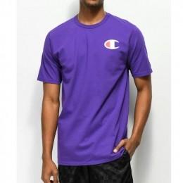 Camiseta Champion Logo C Roxa