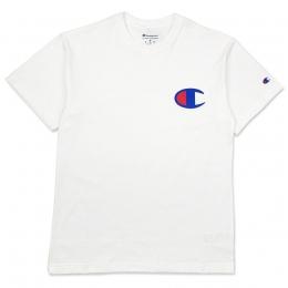Camiseta Champion Logo Patch C Branca