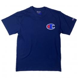 Camiseta Champion Logo Patch C Marinho