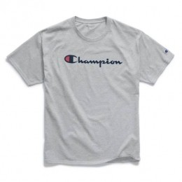 Camiseta Champion Logo Script Mescla