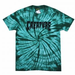 Camiseta Creature Especial Shredded Tie Dye