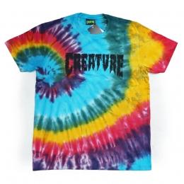 Camiseta Creature Especial Shredded Tie Dye Color