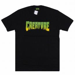Camiseta Creature Logo Preto