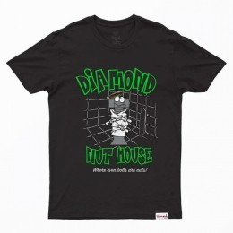 Camiseta Diamond Nut House Black