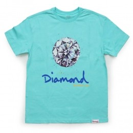 Camiseta Diamond Splash Blue