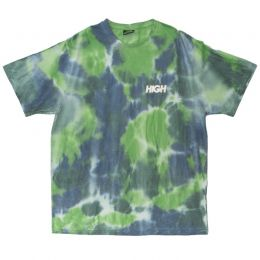 Camiseta High Blot Tie Dye Tee Green