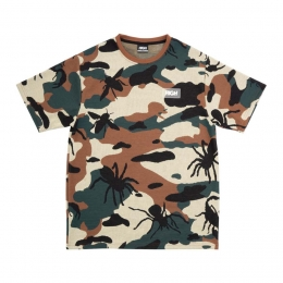 Camiseta High Jacquard Tee Bug Camo Woodland