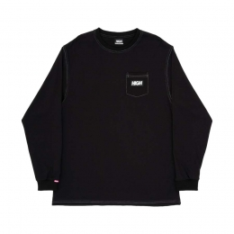 Camiseta High Longsleeve Colored Black