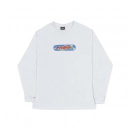 Camiseta HIGH Longsleeve Pool White