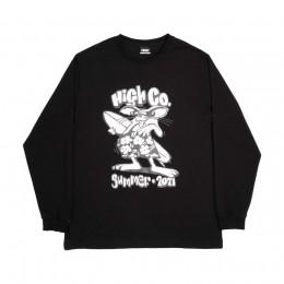 Camiseta High Longsleeve Rat Black