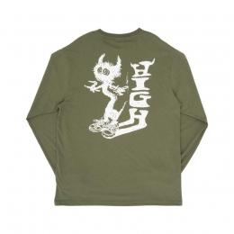 Camiseta High Longsleeve Spike Night Green