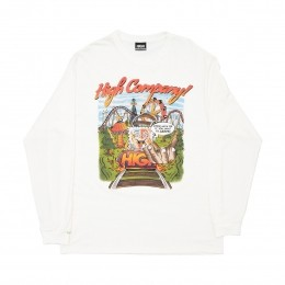 Camiseta High Longsleeve Trip White