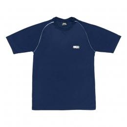Camiseta High Raglan Tee Logo Blue