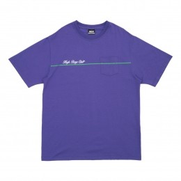Camiseta High Tee Club Pocket Purple