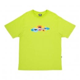 Camiseta High Tee Flow Lime