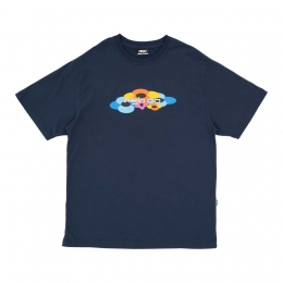 Camiseta High Tee Flow Navy