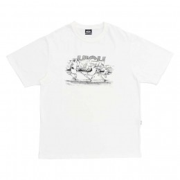 Camiseta High Tee Fyah Gang White