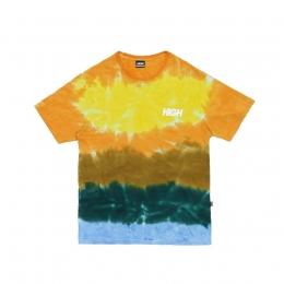 Camiseta High Tee Kidz Tie Dye Yellow