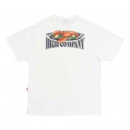 Camiseta High Tee Lobster White
