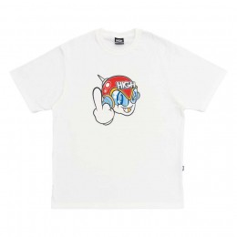 Camiseta High Tee Space G White