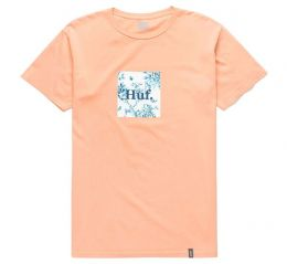 Camiseta Huf Highline Box Coral