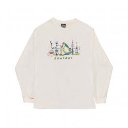Camiseta Manga Longa High Longsleeve Lab White