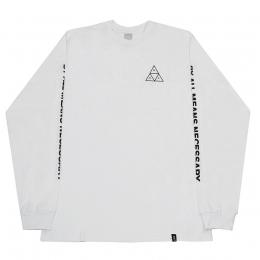 Camiseta Manga Longa HUF Essentials TT Branco