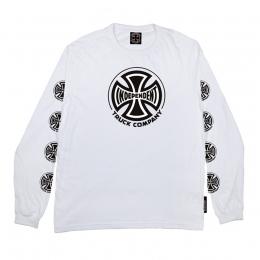 Camiseta Manga Longa Independent Truck Co. Branco