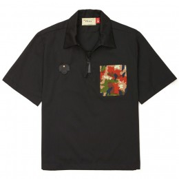Camiseta Pace Polo Shirt Japanese Fabric Program Black