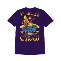 Camiseta WALLS Poster Roxo