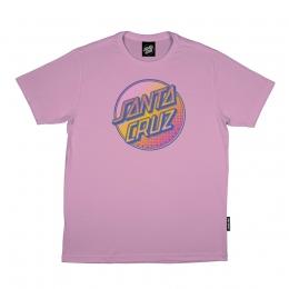 Camiseta Santa Cruz Contra Dot Pop Rosa