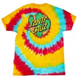 Camiseta Santa Cruz Especial Cactus Dot Tie Dye