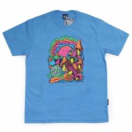 Camiseta Santa Cruz Toxic Wasteland Blue