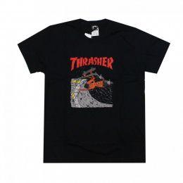 Camiseta Thrasher Neckface Invert Preto