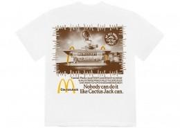 Camiseta Travis Scott x McDonald's Vintage Action White