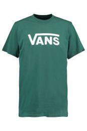 Camiseta Vans Classic Trekking Green/White