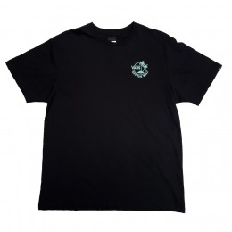 Camiseta Vans Mini Dual Palm III Black Bay