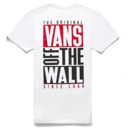 Camiseta Vans New Stax White