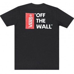 Camiseta Vans Off The Wall Black