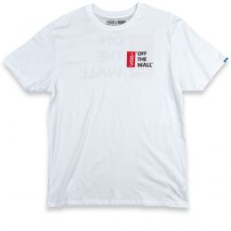 Camiseta Vans Off The Wall White