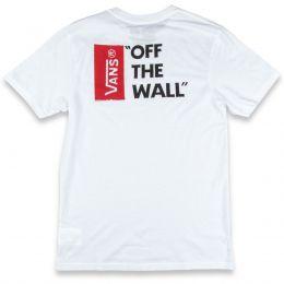 Camiseta Vans Off The Wall White