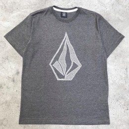 Camiseta Volcom Silk Creep Gray