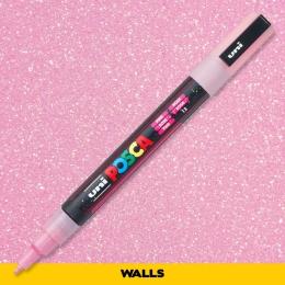 Caneta Posca 3M Rosa Glitter