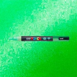 Caneta Posca 3M Verde Glitter