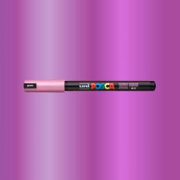 Caneta Posca PC 1MR Rosa Metálico