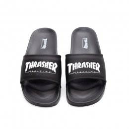 Chinelo Thrasher Skate Mag Preto